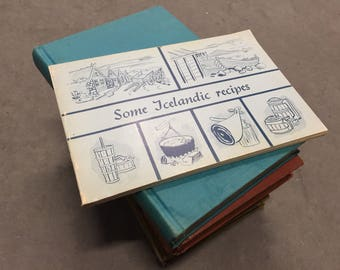 Icelandic Recipes Cookbook International Iceland Cook Book Recipes Vintage 1985
