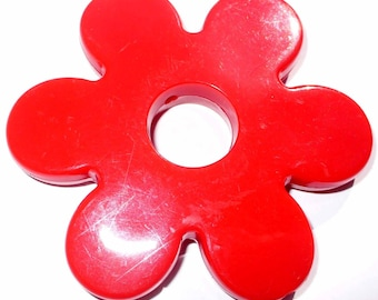1 Pearl Maxi red AA102 60mm red flower
