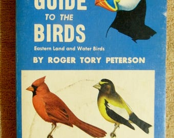 Book --The Field Guide to the Birds, Roger Tory Peterson
