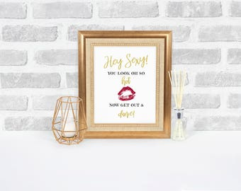 Wedding Bathroom Sign, Wedding Printable, Reception Bathroom, Wedding Bathroom Basket Sign, Reception Signs, Ladies Room, Mens Room