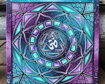 Sirius meditation mandala 40x40 cm