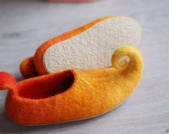 Children sizes- Thin rubber soles for my Felted shoes