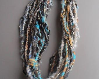 Liane 7: handspun art yarn