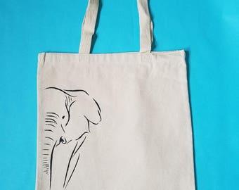 Elephant WILD tote