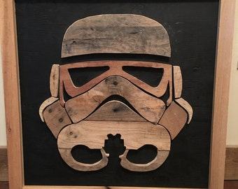 Palletwood Stormtrooper sign - Local Pick Up only