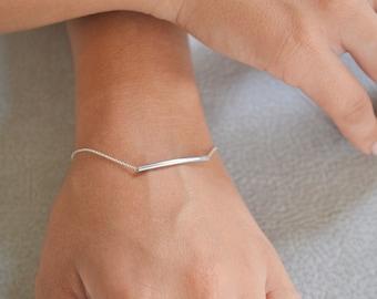 Bracelet, Gold bracelet chain, Gold bracelet, Minimalist bracelet, Gold bracelet set, Skinny gold bar bracelet, Gold bar bracelet, jewelry