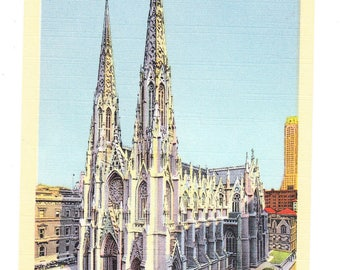 New York City Vintage Postcard (unused)
