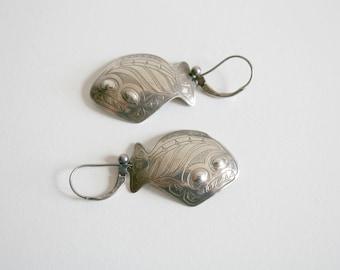 Native Alaskan Fish Earrings