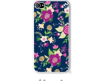 Vintage Floral Phone Case Monogram iPhone 6 Case iPhone 6s Case Samsung Galaxy S5 S6 Case iPhone 5 Case iPhone 6 Plus iPhone 5c Style 183