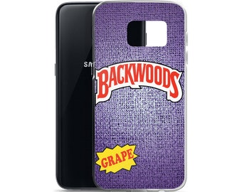 Backwoods Grape Samsung Case