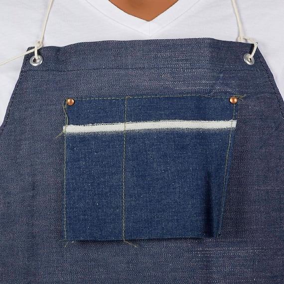 Selvedge Apron Workwear Apron Apron Selvage Deadstock Shop 50s Apron 60s Selvedge Work Apron Denim Denim Denim Jeans Denim Denim Deadstock qFW0OZwW
