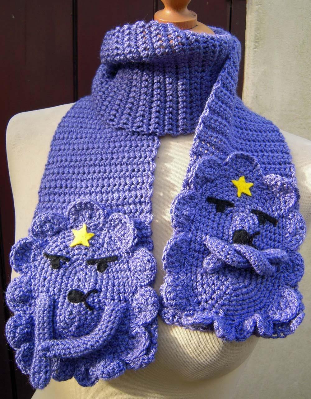 Вязание крючком вязать шарфы