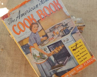 The American Family Cook Book  ~  Editor In Chief Lily Haxworth Wallace  ~  Copyright 1950  (1953 Edition)
