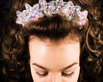 A Hairclip with rhinestones,for Irish Dancing and more