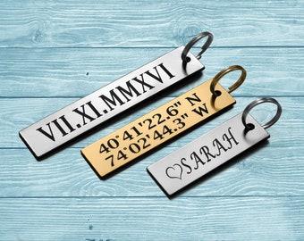 Keychain, Custom Keychain, Personalized Keychain, Personalized Key Chain, Key Tag,Engraved Keyring, Custom Key Chain, Engraved Keychain
