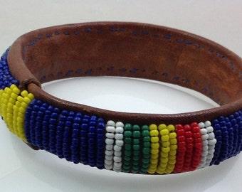 American Indian cuff bracelet.