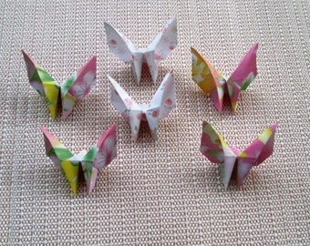 42 Paper Origami Butterfly- flower design, only for  5.00 USD