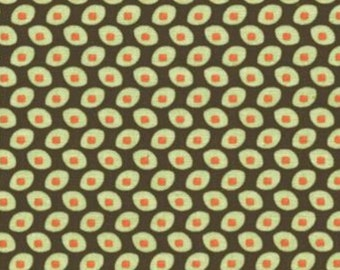 Amy Butler Seeds in Olive from Belle by Rowan Fabrics, Quilting Cotton Yardage