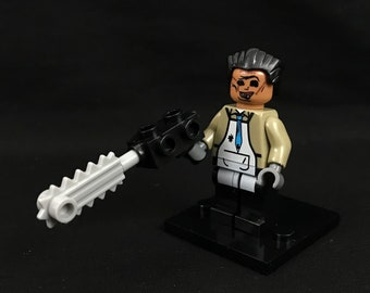 Leatherface from The Texas Chainsaw Massacre Horror Movie Minifigure USA Fast!
