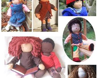Deposit for Custom made, one of a kind, Waldorf doll 38cm / 14.5in Poupee, Muneca, Bambola