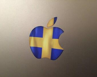 Sweden / Swedish Flag MacBook Decal