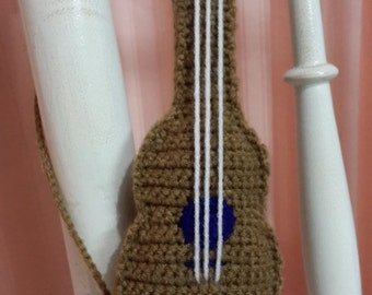 Amigurumi Crochet Guitar Pattern