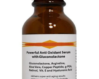 Powerful Anti Oxidant Serum with Gluconolactone and Hyaluronic Acid 1.2 oz