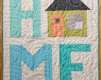 Home Quilted Wall Hanging/ Table Topper