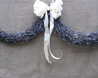 Romantic Lavender Swag, Arch, Archway, Chuppah, Garland or Festoon for Boho Rustic Wedding Home Decor