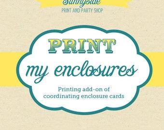 Printing Add-on // Enclosures