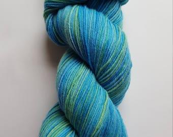 Hand Dyed Yarn 100% Superfine Sustainable Merino 4ply