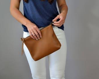 BROWN HOBO BAG  Cross Body Bag  Brown Leather Hobo Women Bag Wedding Bag Brown Hobo  Soft Leather Bag Leather Purse - Napoli Bag -