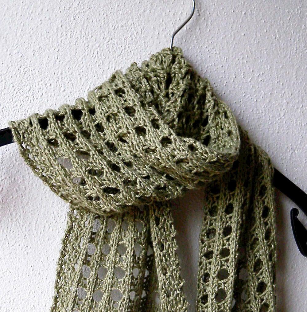 Exelent Knit Pattern Scarf Frieze - Blanket Knitting Pattern Ideas ...