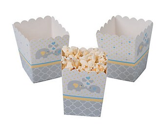 Little Baby Elephant Popcorn Boxes / treat boxes / favor boxes