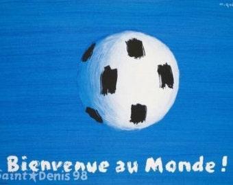 Bienvenue au Monde. Original Poster.