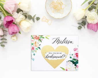 Will you be my bridesmaid card, bridesmaid proposal card, be my maid of honor, bridesmaid card, be my bridesmaid, bridesmaid proposal