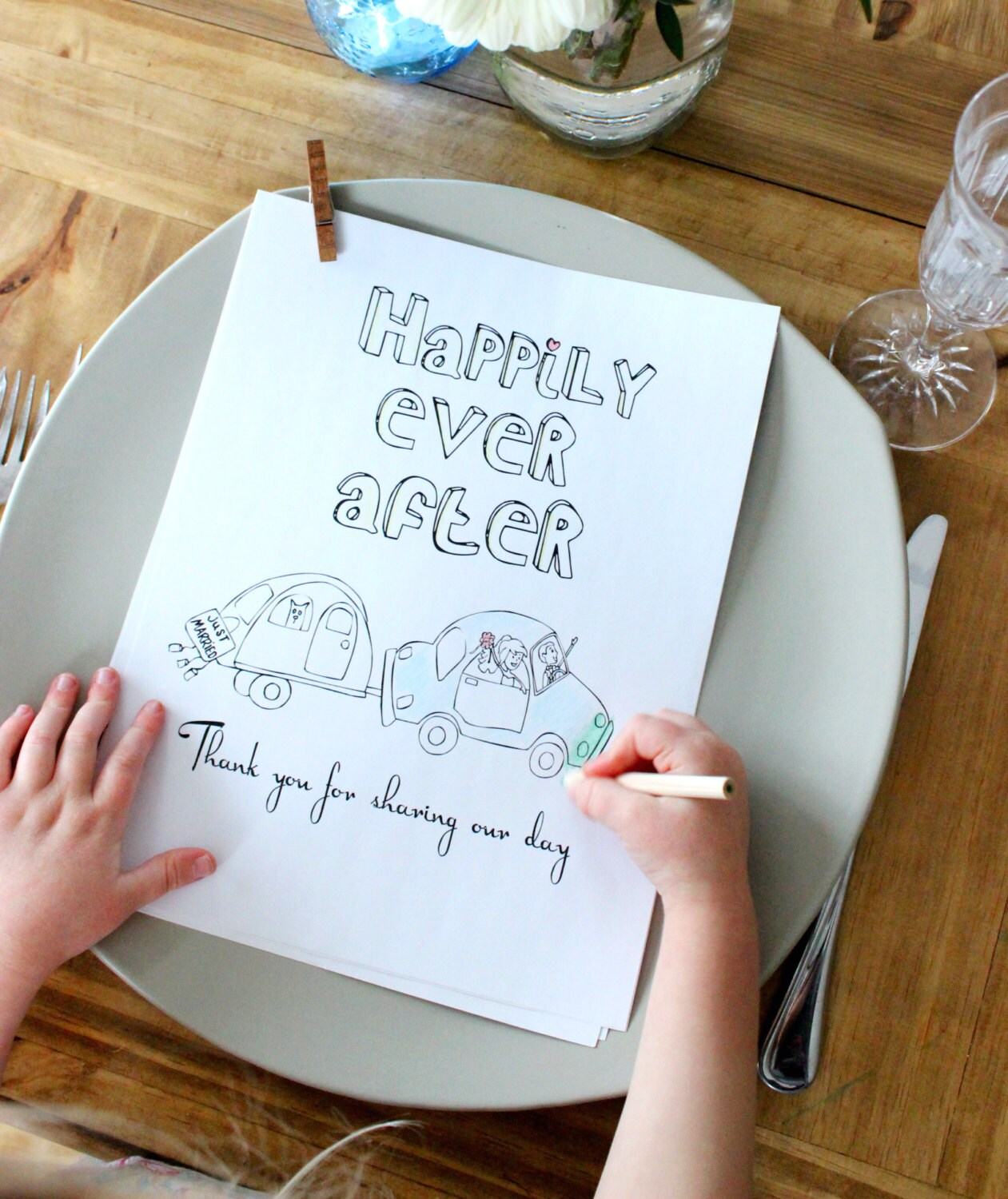 Wedding Coloring Book Pages Activity