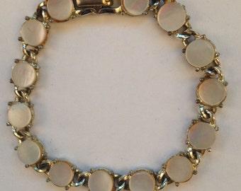 Vintage Coro Mother of Pearl Bracelet