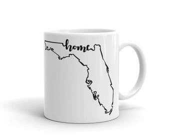 Florida Home State - Coffee Mug