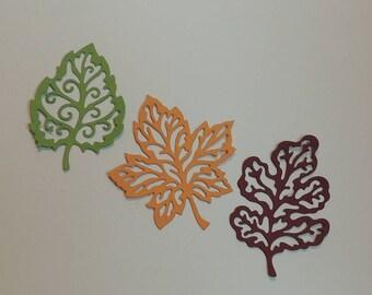 Leaf Style # 1 Die Cuts, Leaf Die Cuts