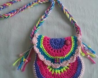 Girl's Crochet Purse