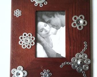 handmade, unique and original picture frame