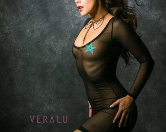 VERALU  Love you so MESH coverup
