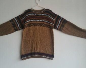 New alpaca wool sweater Green sizes avaiable S ,M , L XL