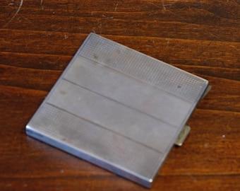 Antique Solid Silver Cigarette Case Italian Silver 800 beginning 1900