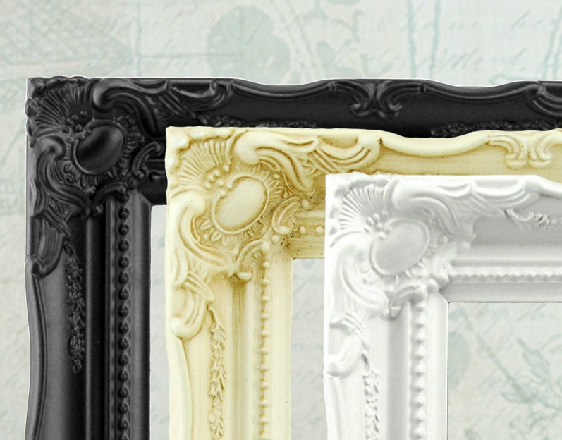 Dad Christmas Gift Dad Gift Black Baroque Picture Frame Ornate Frame ...