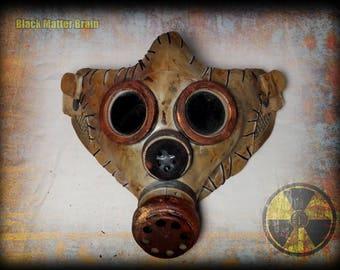 Postapocalyptic Half Mask-airsoft gas mask-Wasteland Warrior