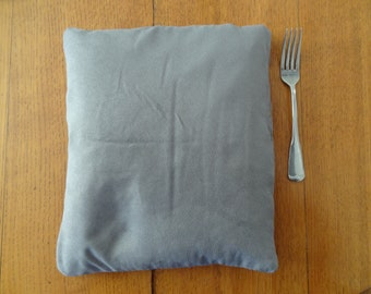 Best Ever Hot/Cold Flax Seed Square PIllow - Gray