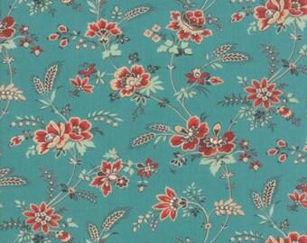 Purebred - Turquoise 26122 16 - Moda Fabrics - 100% Cotton Fabric - by Erin Michael