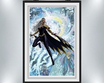 X-Men Storm Poster 11x17 or 24x38